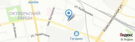 СладКо на карте Екатеринбурга