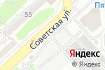 Схема проезда до компании ТОРиС в Екатеринбурге