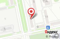 Схема проезда до компании Комитор в Екатеринбурге