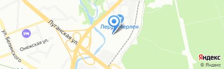 Башкирский лес на карте Екатеринбурга