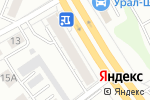 Схема проезда до компании ВИВА-ОПТИКА в Екатеринбурге