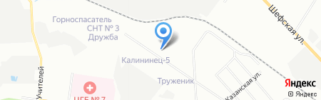 ИнтерДизайн на карте Екатеринбурга