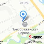 Всё ТВ на карте Екатеринбурга