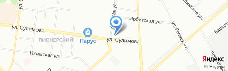 Манхэттен на карте Екатеринбурга