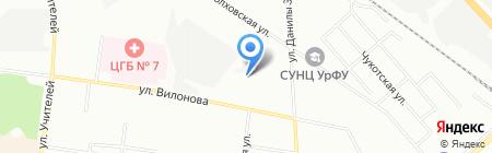 ШАТО-ЛЕОН на карте Екатеринбурга