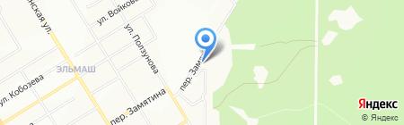 Комбиг-А на карте Екатеринбурга