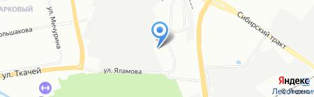 Инко-Екатеринбург на карте Екатеринбурга