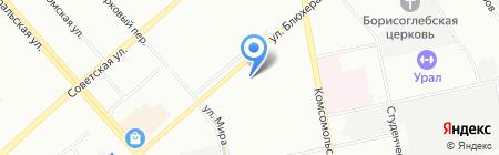 Банкомат Банк ЗЕНИТ на карте Екатеринбурга