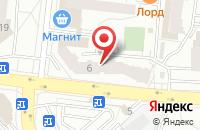 Схема проезда до компании Технология в Екатеринбурге