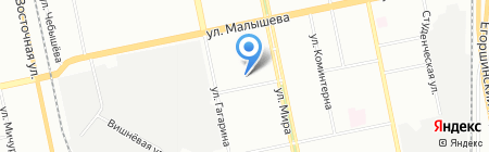 Энергия-ДС на карте Екатеринбурга