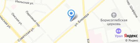 ЭкспрессДеньги на карте Екатеринбурга