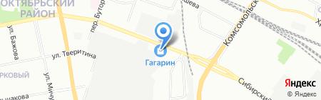 Билайн на карте Екатеринбурга