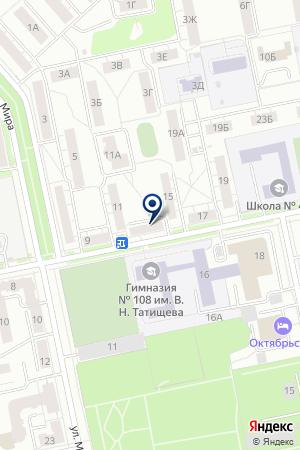 Пульс на карте Екатеринбурга