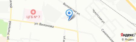 Сантехлайн на карте Екатеринбурга
