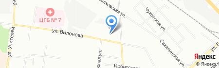 DesignVinyl на карте Екатеринбурга