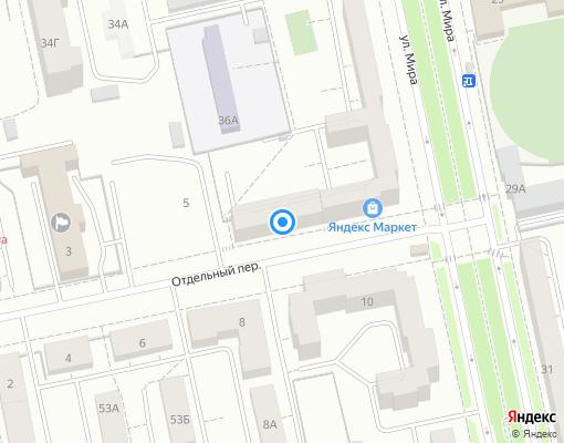 Товарищество собственников жилья «Наука-1» на карте Екатеринбурга