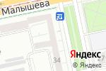 Схема проезда до компании Союз-Мобайл в Екатеринбурге