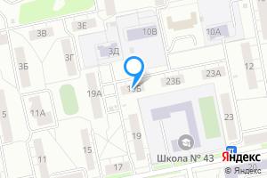 Двухкомнатная квартира в Екатеринбурге ул Академическая, 19б