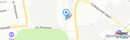 РусЭнергоСтрой АО на карте Екатеринбурга