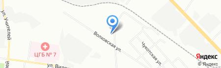 КР Пром на карте Екатеринбурга