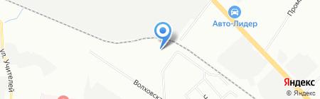 АВТОСТЭЛС на карте Екатеринбурга