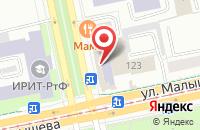 Схема проезда до компании Город Здоровья в Екатеринбурге