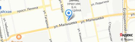 Япона Pub на карте Екатеринбурга