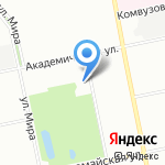 Октябрьская на карте Екатеринбурга