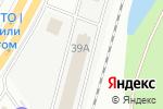 Схема проезда до компании Топаз в Екатеринбурге