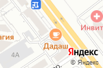 Схема проезда до компании Дадаш в Екатеринбурге