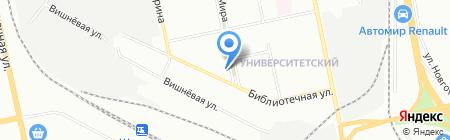 Автоэмали на карте Екатеринбурга