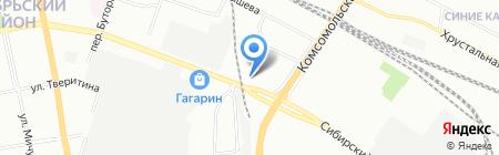 Каприз-Сюрприз на карте Екатеринбурга