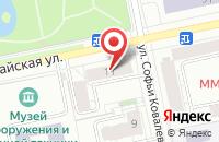 Схема проезда до компании Центрофинанс групп в Ильском