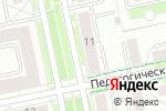 Схема проезда до компании Вишня в Екатеринбурге