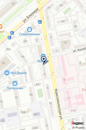 АПТЕКА-сити на карте Екатеринбурга