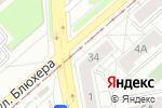 Схема проезда до компании Урал-СА в Екатеринбурге