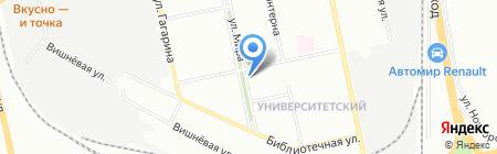 Почтовое отделение №78 на карте Екатеринбурга