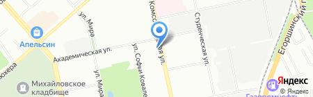 Банкомат МДМ Банк на карте Екатеринбурга
