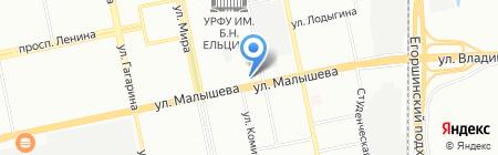 Мистер Ландри на карте Екатеринбурга
