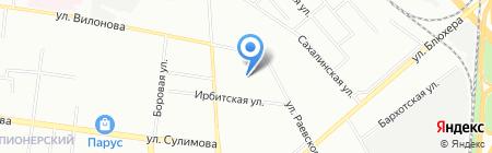 Детский сад №236 на карте Екатеринбурга