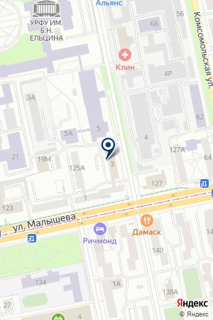 Метек Сервис на карте Екатеринбурга
