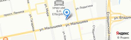 Хорошие квартиры на карте Екатеринбурга