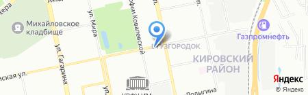 Амбрелла-Трэвел на карте Екатеринбурга
