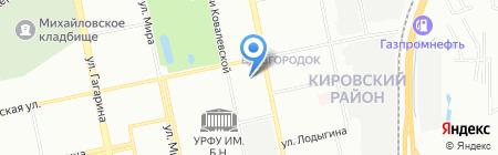Стоматех-Л на карте Екатеринбурга