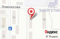 Схема проезда до компании ПромСтройПроект в Серове