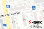 Схема проезда до компании Ортикс в Екатеринбурге