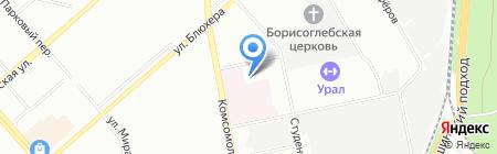 КОМАСИС на карте Екатеринбурга