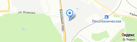 Апекс на карте Екатеринбурга