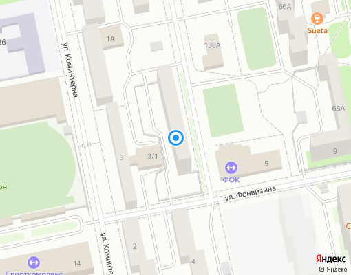 Товарищество собственников жилья «Профессорский, 3» на карте Екатеринбурга