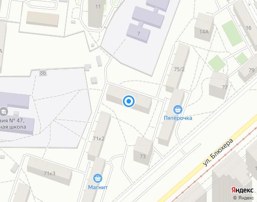 Жилищно-строительный кооператив «ПЖЭК 109» на карте Екатеринбурга